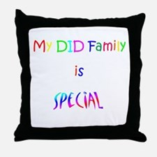 DID Special Throw Pillow