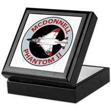 McDonnell_PhantomII_Blk Keepsake Box