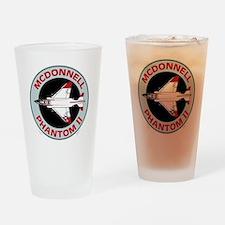 McDonnell_PhantomII_Blk Drinking Glass
