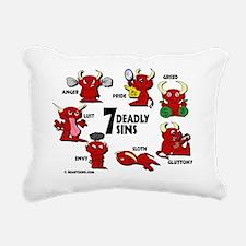 7deadlysinsshirt Rectangular Canvas Pillow