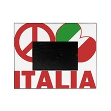 Peace Love Italy Picture Frame