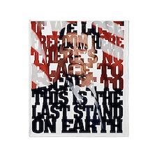 Ronald Reagan Quote Throw Blanket