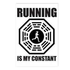 Running-is-my-Constant--- Postcards (Package of 8)