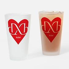 Heart Dubai Drinking Glass