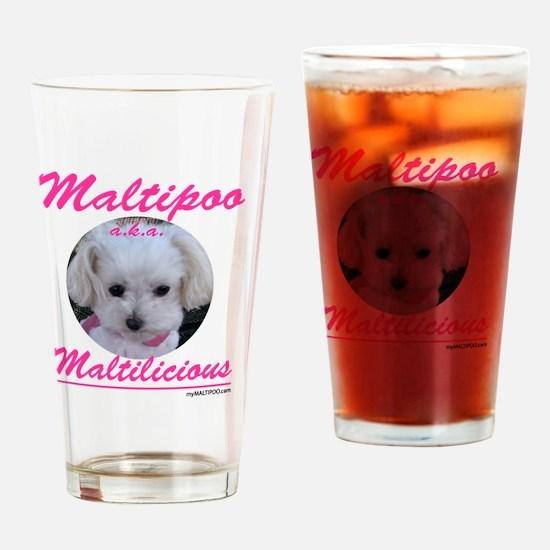 malti-licious_300dpi copy Drinking Glass