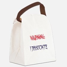 DID warning Canvas Lunch Bag