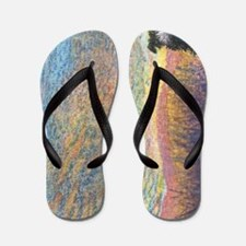 In the colour of evening Flip Flops