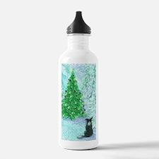 When Christmas trees w Water Bottle