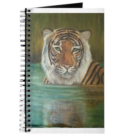 Tiger in Water Journal
