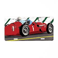 MossArtTeeImage Aluminum License Plate