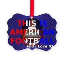 amfootball1a Picture Ornament