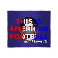 amfootball1a Throw Blanket