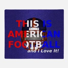 amfootball1a Throw Blanket
