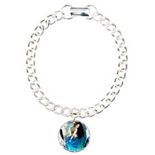 CAFEPRESSblue Charm Bracelet, One Charm