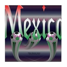 MexicoTriMpad Tile Coaster