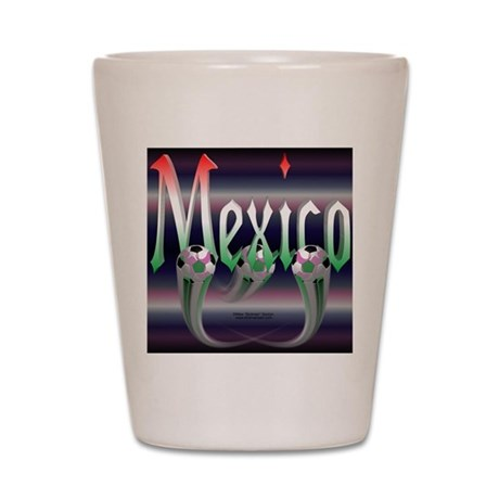 MexicoTriMpad Shot Glass
