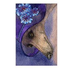 journal whippet of myster Postcards (Package of 8)