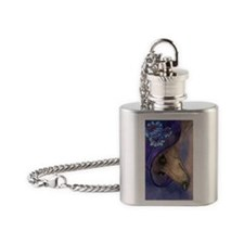 journal whippet of mystery Flask Necklace