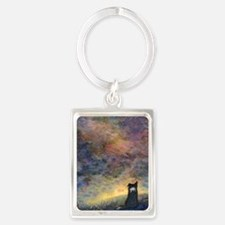 New day dawning Portrait Keychain