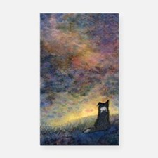 New day dawning Rectangle Car Magnet