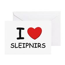 I love sleipnirs Greeting Cards (Pk of 10)