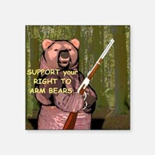 "ArmBears Square Sticker 3"" x 3"""
