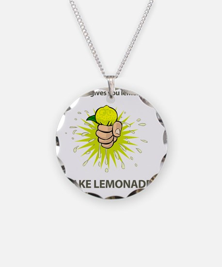 Make Lemonade Necklace