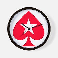 PokerStars Star Wall Clock