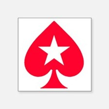 "PokerStars Star Square Sticker 3"" x 3"""