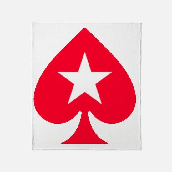 PokerStars Star Throw Blanket