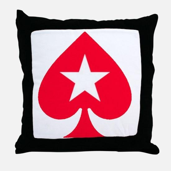 PokerStars Star Throw Pillow