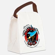 5-rocket-wax Canvas Lunch Bag