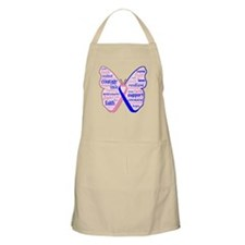 Butterfly Male Breast Cancer Apron