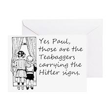 teabaggers Greeting Card