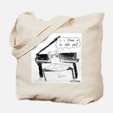 A Virtuoso on the Middle Pedal Tote Bag