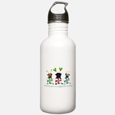 Have A Puggerific Holiday Water Bottle