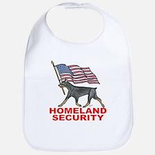 DOBERMAN HOMELAND SECURITY Bib
