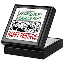 festivus_sign_crowd Keepsake Box