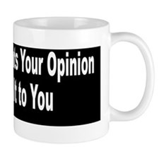 When Obama Wants Your Opinion Mug
