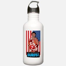 MyPresidentSurfs Sports Water Bottle