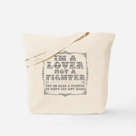 loverfighterPNG Tote Bag