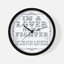 loverfighterPNG Wall Clock