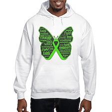 Butterfly Lymphoma Ribbon Hoodie