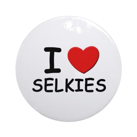 I love selkies Ornament (Round)
