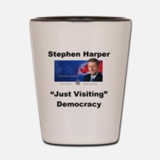Copy of just visiting small Shot Glass
