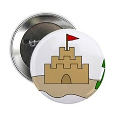 "Sandcastle 2.25"" Button"