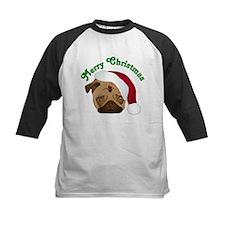 Merry Christmas Santa Pug Baseball Jersey