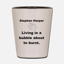 Copy of living in a buble small Shot Glass
