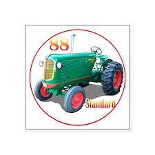 "Oliver88Std-C8trans Square Sticker 3"" x 3"""
