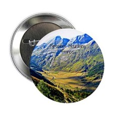 "Majestic Pyrenees Mountains 2.25"" Button"